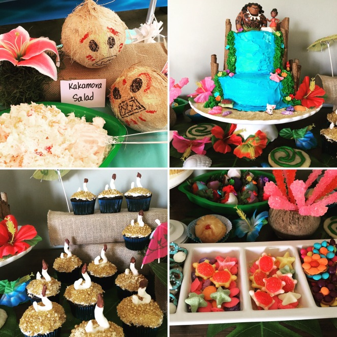 Moana birthday party inspiration