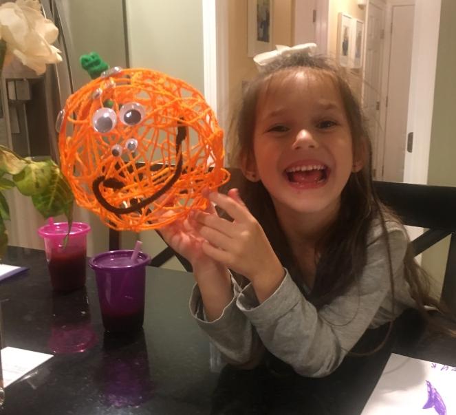Fall pumpkin craft - www.laneandlauren.com